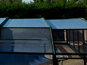 reparación cubiertas piscinas