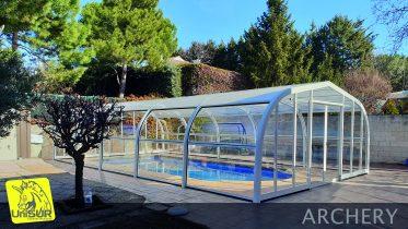 Cubiertas para piscinas UniSUR Cubierta piscina Madrid