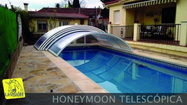 UniSUR Cubiertas Para Piscina desmontables modelo Honeymoon