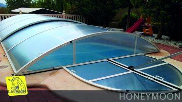 UniSUR Cubiertas de piscina desmontable modelo Honeymoon