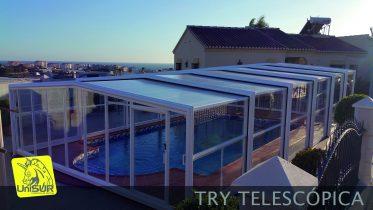 Cubierta para Piscina UniSUR modelo TRY cubiertas de piscina precios
