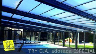 cubiertas para piscinas UniSUR Cerramiento para patio