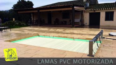 UniSUR_Persiana automática de lamas PVC para piscina