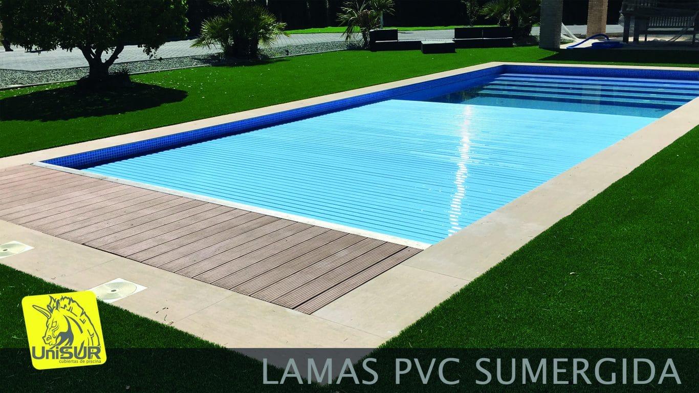 Cubiertas para piscinas UniSUR Cubierta tipo persiana para piscina